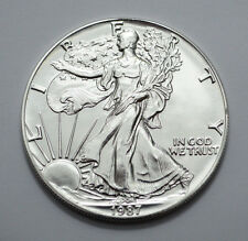 1987 American Silver Eagle Dollar 1 Oz Fine Silver  Uncirculated/MS !!!