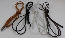 New unisex round waxed cotton oxford dress canvas sneaker shoe Laces!#