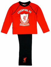 Boys / Girls Authentic Official Liverpool FC  Football Pyjamas Age 4 - 12 Years