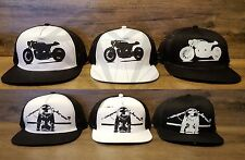 Paragon Moto Cafe Racer Mesh Hats - Various Styles - High Quality Cotton Design!