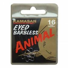 Kamasan Animal Hooks - Eyed - Barbless