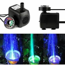 12 LED Light Submersible Water Pump for Fountain Pool Garden Pond Fish