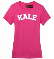 Kale Ladies Soft T Shirt Funny University Food Vegan Vegetarian Health Tee Z4