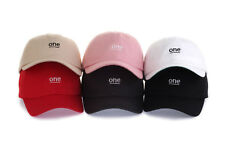 One Embroidery Cotton Baseball Caps Hats Unisex Accessories K-Street Fashion