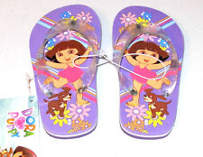 Dora & Puppy Flip Flops, size 5/6, New with Tag!