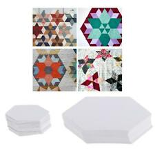 100x Hexagon Paper Quilting Template English Paper Piecing for Patchwork Crafts