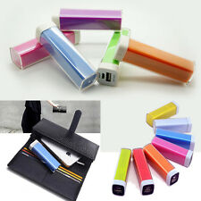 Mini 2600mAh USB Portable External Battery Charger Power Bank For Cell Phone USA