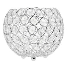 Crystal Bling Votive Tealight Candle Holder Wedding Home Party Centerpiece 3Size