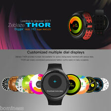 "Zeblaze THOR 3G Smartwatch Phone 1.4"" Android 5.1 4 Core 1.0GHz 1GB/16GB BT 4.0"