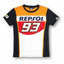 New Official 2015 Marc Marquez 93 Repsol Honda T'Shirt - REMTS 148203