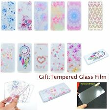 ULTRA THIN Fashion Floral SOFT GEL Silicone Back Case Cover Skin For Sony Xperia