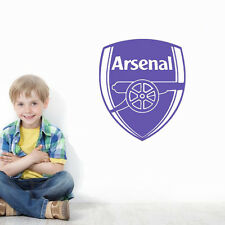 Arsenal Sport Logo Vinyl Wall Sticker Decor Art KIDS Wall Decal Football Club