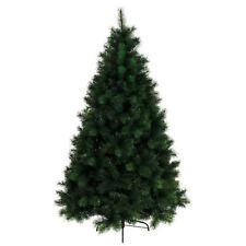 LW2 6FT 7FT Mixed Pine Plain Green Quality Bushy Artificial Christmas Tree