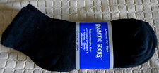Mens Diabetic Low Cut Ankle Socks Black Size: 9-11  Pick Your Qty   Lot USA Made