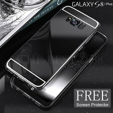 Thin Crystal Clear Case Makeup Mirror Soft TPU Cover For Samsung Galaxy S8 Plus