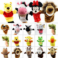 Wild Animal Funny Hand Glove Puppets Finger Role Pretend Play Kid Baby Push Toys