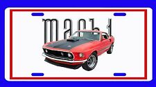 NEW 1969 Ford Mustang Mach 1 License Plate!! FREE SHIPPING!!