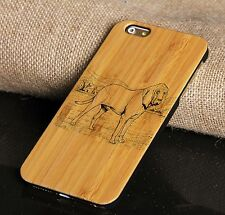 Wood Phone Case Engraved Bamboo Cell Phone Case For 6/6s/6plus/6splus/7/7plus