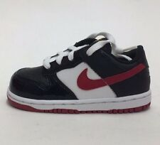 VINTAGE NIKE DUNK LOW (TD) 316610-061 BLACK/VARSITY RED