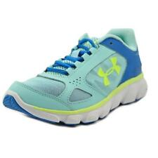 Under Armour GGS Assert V Youth  Round Toe Synthetic Blue Running Shoe
