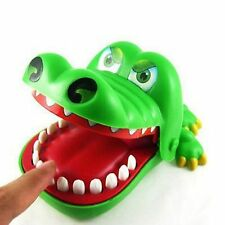 Kids Children Cute Gifts Crocodile Mouth Dentist Bite Finger Game Funny Toys