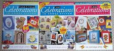CROSS STITCH MAGAZINES - VARIOUS TITLES/ISSUES FROM LATE 1990s/EARLY 2000s