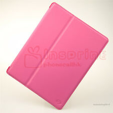 Smooth Folio Leather Case Cover w/Stand For New iPad 4 4th/3 3rd/2 2nd