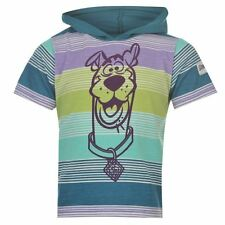 SCOOBY DOO:STRIPED SHORT SLEEVED,HOODED T,3/4,4/5,5/6,7/8,NEW WITH TAGS