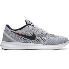 New Womens Nike Free RN Running Shoes White/Black/Pure Platinum All Sizes