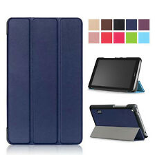Slim Custer Tri-Fold PU Leather Case Stand Cover For Huawei Mediapad T3 7.0inch