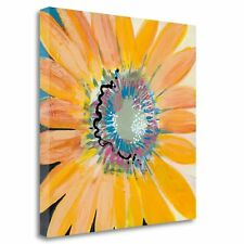 'Sunshine Flower IV' by Leslie Bernsen Painting Print on Wrapped Canvas