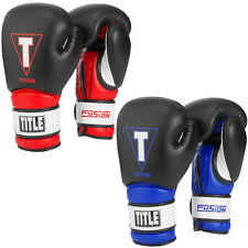 Title Boxing Fusion Tech Hook and Loop Training Gloves