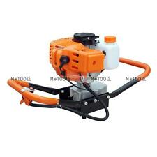 """52cc Gas Powered Post Hole Digger /4"""" or 8"""" Earth Auger Digging Bits Planting AU"""