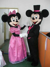 Mickey and Minnie Mouse Mascot Costume party game Birthday Fancy Dress Adults