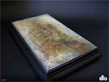 Built & Painted Diorama Base (15x25cm), 1:35 Urban Cobblestone Section