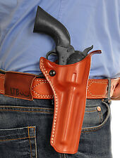 MASC LEATHER OWB PADDLE HOLSTER FOR RUGER VAQUERO 4.62''BBL 45 COLT R/H #4220#