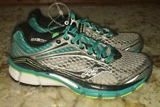 SAUCONY Triumph 11 PowerGrid Grey Teal Green Running Shoes NEW Womens Sz 5