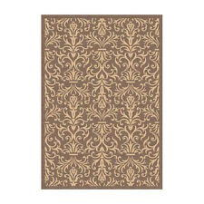 Dynamic Rugs Piazza Rockwell Brown Indoor/Outdoor Area Rug