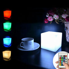 Remote Control Rechargeable LED Night Light Mood Lighting Table Lamp Kids Adult
