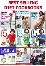 Clean & Lean Diet Books Collection Set Healthy Eating Recipe Cookbooks Joe Wick