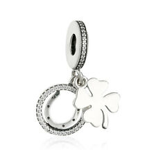 authentic 925 sterling silver Bead Flower Pendant Charm Beads genuine charms