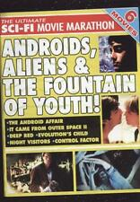 6-MOVIE SCI-FI MARATHON: ANDROIDS, ALIENS & THE FOUNTAIN OF YOUTH NEW DVD