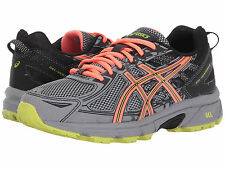 ASICS GEL VENTURE 6 PHANTOM CORAL LIME WIDE WOMENS SHOES  ** WORLDWIDE SHIPPING