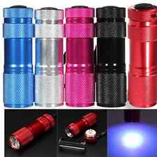 Allure 9 LED Ultra Violet UV Blacklight Portable Flashlight Torch Light Lamp Pop