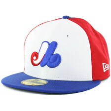 New Era 59FIFTY Montreal Expos Cooperstown Fitted Hat (RB RD WH) Cap