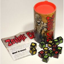 Zombie Dice Game Steve Jackson Games Replacement Pieces SJG 131313