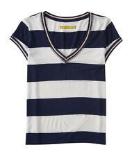 aeropostale womens prince & fox rugby v-neck ringer tee shirt