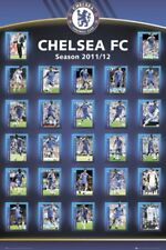 New Squad Profiles 2011/12 Chelsea Football Club Poster