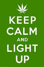 New Keep Calm & Light Up Maxi Poster