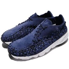 Nike Air Footscape Woven NM Binary Blue Men Casual Shoes Sneakers 875797-400